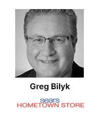 Greg Bilyk, Sears Hometown Stores